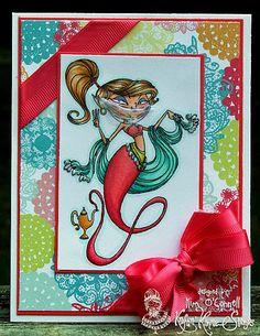 Paper Perfect Designs by Kim O'Connell: light fuschia satin grosgrain double band ribbon