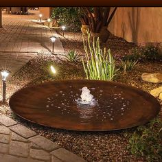 Outdoor Water Features, Water Features In The Garden, Garden Pond Design, Rock Fountain, Water Architecture, Indoor Water Garden, Porch Garden, Small Ponds, Shade Garden