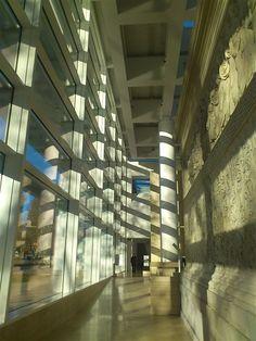 Richard Meier architect - Ara Pacis Museum - Roma - photo Fabrice Lefebvre du Prey