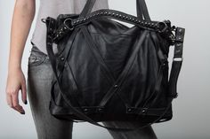 Rage Cage Laptop purse bag by JungleTribe on Etsy, $414.00