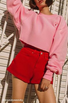 a3fed9bcbcf Shop Champion Crew-Neck Cropped Sweatshirt at Urban Outfitters today.