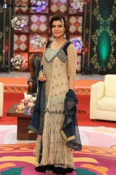 Nida Yasir, Pakistani Formal Dresses, Indian Fashion, Womens Fashion, Pakistani Actress, Asian Style, Western Wear, Fancy Dress, Designer Dresses