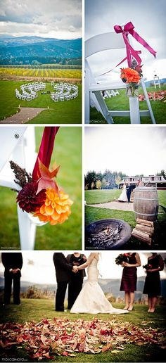 Vineyard - Winery Wedding
