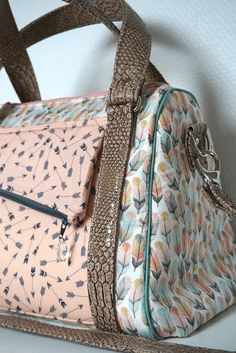 Sew Sweetness Rockstar Bag pattern - Les envies de Charlotte