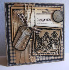 Shabby Chic for Timothy by PMarsh5 - Cards and Paper Crafts at Splitcoaststampers