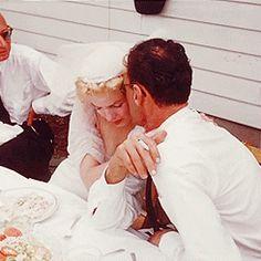 The Jewish wedding ceremony of Marilyn Monroe and Arthur...