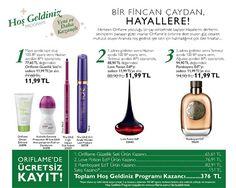 Oriflame Hoşgeldiniz Kampanyası | OriTürkiye
