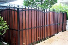 Privacy Fence Landscaping Ideas Home Fencing Options Home Fencing Buyers Guide HouseLogic Privacy Fence Landscaping, Privacy Fence Designs, Privacy Fences, Pool Fence, Backyard Fences, Patio Privacy, Landscaping Ideas, Privacy Screens, Front Yard Fence