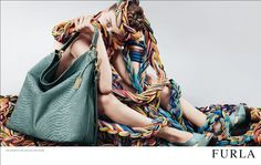 Emerging artist Sissi is the face of Furla's S/S 2010 campaign Furla, Stylists, Campaign, Crochet, Face, Fashion, Artists, Moda, Fashion Styles