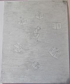 生活 | #絵 , #イラスト , #dreams, #夢, #life, #生活, #女の子, #fear, #恐怖, #hope, #希望, #sleeping, #眠り,  #floating, #浮揚 , #despair, #絶望 , #success, #成功 , #failure, #失敗, #stars, #星, #moon, #月 , #cubes, #立方体, #person,  #人
