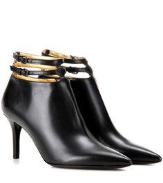 Bottega Veneta Leather 80 ankle boots Black              $129.00