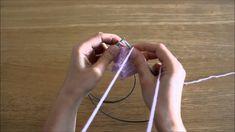 Curso de trico - Querido Tricot: aumento intercalar em meia (make one le...