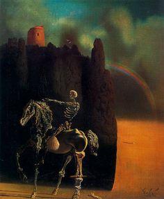 Salvador Dalí »»El jinete de la muerte, 1935