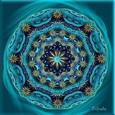 Check out Giada Rossi's Crated MANDALAS gallery
