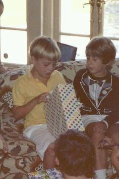 It looks like... Christmas?... -- Josh Groban and Chris Groban