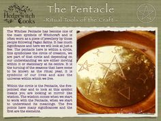 The Pentacle - The Hedgewitch Cooks