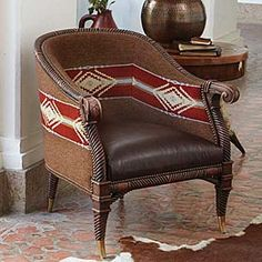 Navajo Blanket Chair