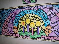 advent bulletin boards | Neat idea...could be used for other themes ... | Bulletin board ideas