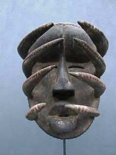 African Bete warrior mask (via figsdunwar)