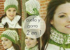 pattern gorro y cuello de crochet