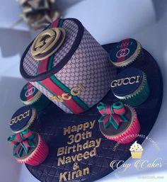 Beautiful Birthday Cakes, My Birthday Cake, Sweet 16 Birthday, 16th Birthday, Beautiful Cakes, Amazing Cakes, Birthday Cake For Boyfriend, Bolo Gucci, Bolo Chanel