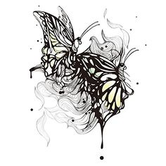 """2 Sheets Waterproof Temporary Tattoos Sticker Removable Body Art Fake Tattoo Paper Arm Sleeve Cover Butterfly. Size: 6.9""""*4.3"""" /17.5*11CM. Package Includes: 2 pcs. It will last 3-7 days, and it depends on how many times you take showers, washing hands with soap and water, and even doing dishes. Can be easily removed: Saturate tattoo with household alcohol or body oil, makeup remover, or by scrubbing it off with soap and water, wait 10 seconds, then rub away with cotton ball. Warning…"""