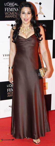 Pooja Bedi at the L'Oreal Paris Femina Women Awards 2014.