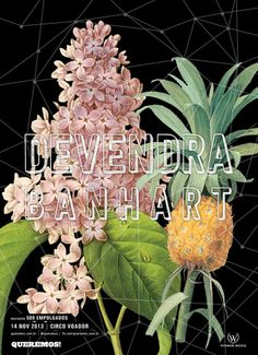 Devendra Banhart (November 2013) Art by Flávia Trizotto (flaviatrizotto@gmail.com)