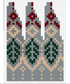 Knitted Mittens Pattern, Fair Isle Knitting Patterns, Knitting Stiches, Knitting Charts, Knitting Yarn, Hand Knitting, Norwegian Knitting, Pixel Pattern, Christmas Knitting