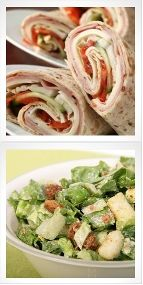 Easy Dinner: Chicken and Smoked Gouda Wraps Velata Smoked Gouda will be the bomb on this wrap!