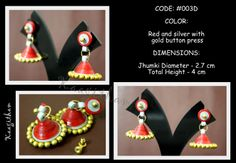 Beautiful ethnic jhumkis that spice up your everyday attire !