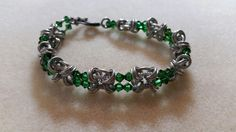 "This is called, ""Sweet 16! Bracelet"" beacuase it uses 16 gauge wire!  Another Misti's Jewelry Original"