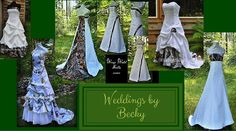 Spend one of your most special and memorable days wearing what you love - CAMO! Here's a list of places to buy awesome camo wedding dresses! Her Buck His Doe, Camo Wedding Dresses, Wedding Ideas To Make, Hunting Wedding, Crystal Wedding, Deer Hunting, Maid Of Honor, Special Day, How To Memorize Things