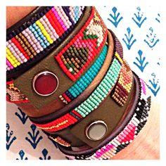 New Isaro leather cuffs!