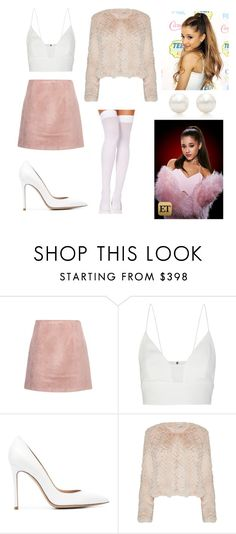 """Scream Queens Chanel #2 inspired outfit."" by luiugarted on Polyvore featuring moda, Acne Studios, Narciso Rodriguez, Gianvito Rossi y Tiffany & Co."