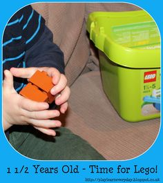 Play & Learn Everyday: 1 1/2 Years Old - Time for Lego!