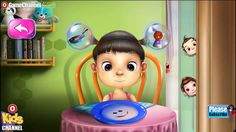 See this kids Game video.We build premium quality mobile games for our clients worldwide.We offer you end to end mobile game development services.We use industry specific middle ware like Unity 3D,HTML5,Cocos 2DX etc.