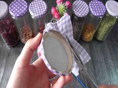 Astuce Déco - Personnalisez les bocaux en verre pour votre cuisine