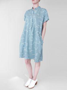 pleuvoir:  Dusen Dusen Oversize Tee Dress