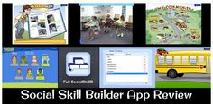 App Review: Social Skill Builder - Pinned by @PediaStaff – Please Visit ht.ly/63sNtfor all our pediatric therapy pins