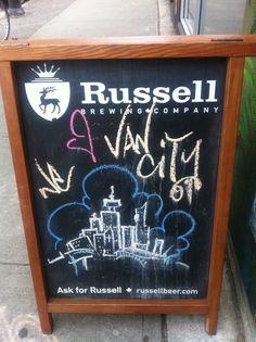 Chalkboard Van City