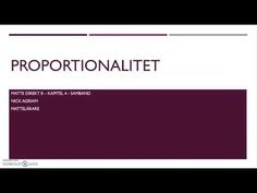 Genomgång av Matte direkt 8 Ny upplaga   Kapitel 4   Proportionalitet