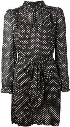 Marc By Marc Jacobs Polka Dot Dress in Black   Lyst