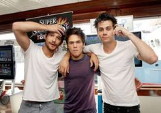 tyler posey, dylan o'brien and dylan sprayberry