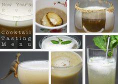 nye cocktail tasting menu