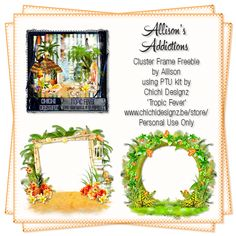 Allison's Addictions: FTU Cluster Frames