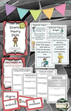 A great pack that covers the scientific inquiry process with explicit links to the Australian Curriculum. Science Inquiry, Primary Science, Inquiry Based Learning, Teaching Schools, Science Topics, Science Chemistry, Teaching Aids, Weird Science, Science Resources