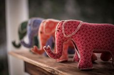 Cute 100% handmade soft toy elephant Project 100, Handmade Soft Toys, Plushies, Baby Room, Dinosaur Stuffed Animal, Create, Fabric, Projects, Gifts
