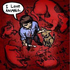 Le spécisme et l& Vegan Memes, Vegan Quotes, Vegan Facts, Why Vegan, Vegan Vegetarian, Vegan Animals, Farm Animals, Amor Animal, Animal Agriculture