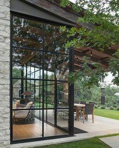 "840 Likes, 4 Comments - Stylish Interior Designs (@thedailyinterior) on Instagram: ""Window Walls #thedailyinterior"""